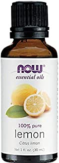 レモン 精油[30ml] 【正規輸入品】 NOWエッセンシャルオイル(アロマオイル)