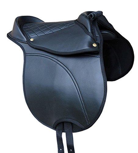 Reitsport Amesbichler AMKA SHETTY Sattel Reitkissen mit Haltegriff verstellbare Sattelkissen auch für Holzpferd auch für Holzpferde geeignet Größe Shetty