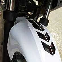 Motorcycle Front Fender Decals Stickers Universal Motorcycle Decals 13.3