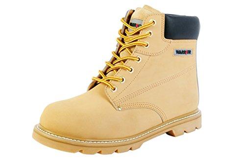 Warrior Workwear 0118 Mmb40/11 Bottines, taille 11, Sable/jaune