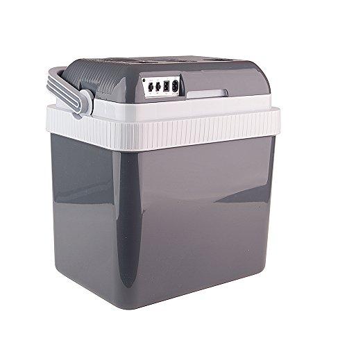 Auto Companion koelbox warm/koud, draagbare elektrische koelbox 24 l 240 VAC & 12 V
