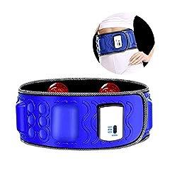 LXHSY Electric Vibrating Slimming Belt Massager Weight Loss Belt Vibration Burning Fat Lose Weight Shake Belt Waist Trainer- Massage Waist Exerciser Rejection