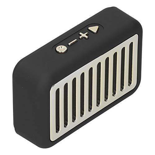 Lazmin112 Altavoces Bluetooth, Altavoces Bluetooth inalámbricos portátiles, Volumen más Alto, Sonido estéreo cristalino, Manos Libres, Altavoces para el hogar, al Aire Libre, Viajes-Negro