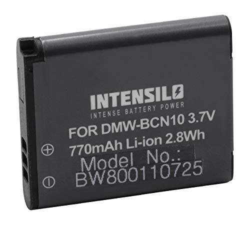 INTENSILO Li-Ion baterías 770mAh (3.7V) para cámaras, videocámaras Leica C reemplaza Leica...