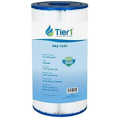 Tier1 Replacement for Spas Freeflow Legend, Pleatco PFF50P4, Filbur FC-2401, Unicel 5CH-45 Filter Cartridge