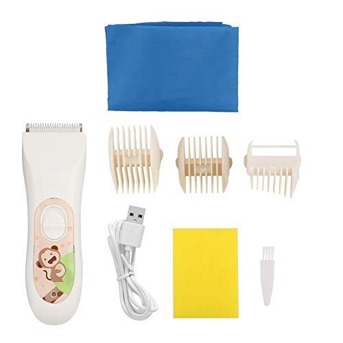 Baby Haarschneidemaschine Elektrische Haarschneider für Kleinkinder Ruhige USB Rasierer Schneiden Kind Haarschnitt für Baby