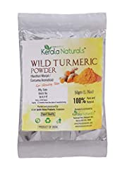 KERALA NATURALS Wild Turmeric - Kasthuri Manjal: For Glowing Skin. BUY ORIGINAL PRODUCT FROM Natural Products Store Reduces pigmentation and removes scars, Gives a natural glow to skin Free from pesticides and other chemical impurity. 100 % better th...