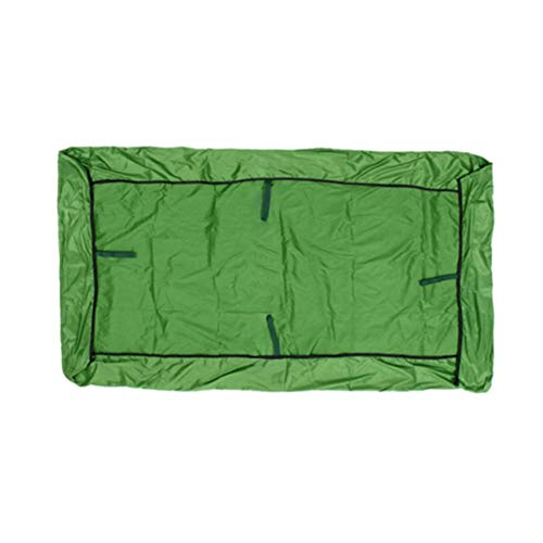 Linier Replacement Roof Garden Swing Universal Roof Tarpaulin Replacement Cover Sun Canopy Swing and Coated Oxford Cloth UV Block Waterproof for Outdoor Patio Garden