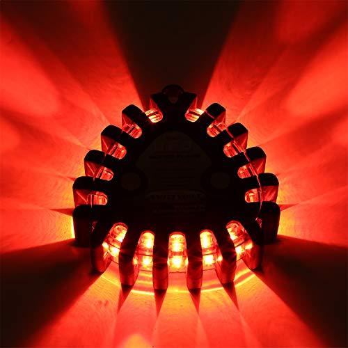 Smittybilt L-1409 Universal Flashing Object (U.F.O.) LED Safety Light