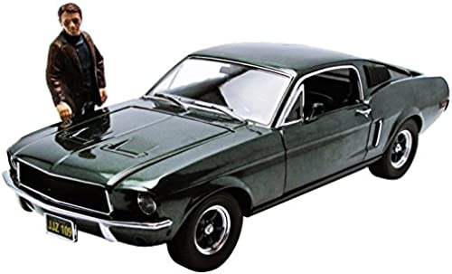 Bullitt Fahrzeug 1 18 1968 Ford Mustang GT Fastback