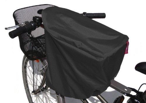 TROCKOLINO Regenschutz für den WeeRide Fahrradsitz schwarz