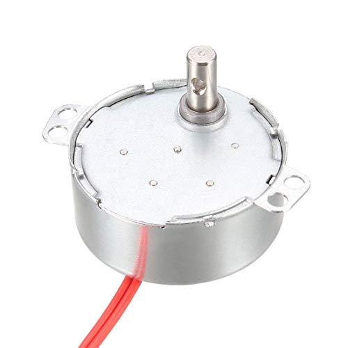 Motore sincrono elettrico a ingranaggi in metallo AC 12V 9-11RPM 50-60Hz CCW/CW 4W
