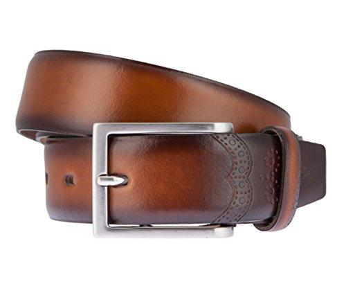LLOYD Leder Gürtel 1080 verschiedene Farben, Länge:95 cm, Farbe:Naturtöne