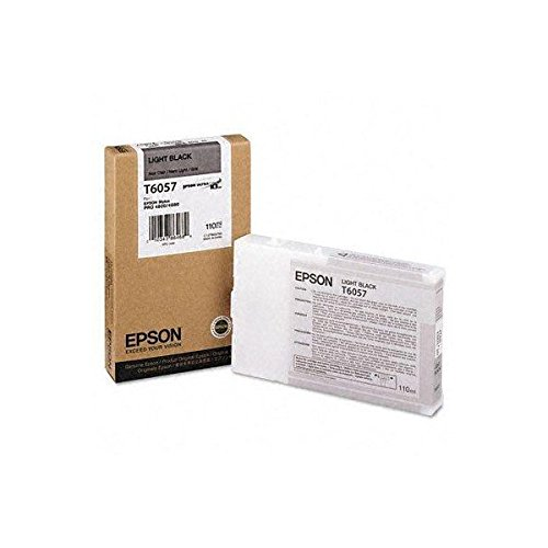 Epson T605700 UltraChrome K3 110ml Light Black Cartridge (T605700)