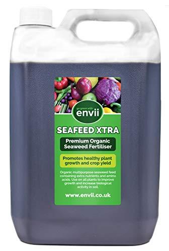 Envii Seafeed Xtra – Premium bioaktiver Seetang-Flüssigdünger und Wachstumsbeschleuniger (5L)