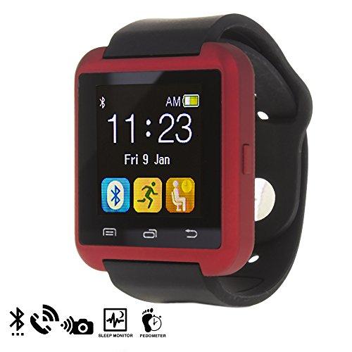 Silica DMQ234RED - U80 Bluetooth Watch, Color Rojo