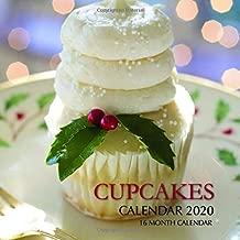 Cupcakes Calendar 2020: 16 Month Calendar