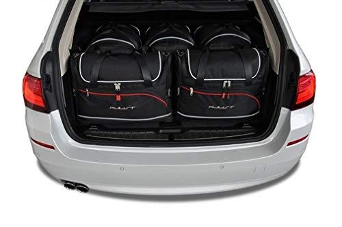 KJUST Dedizierte Reisetaschen 5 STK kompatibel mit BMW 5 Touring F11 2010-2017
