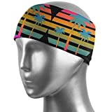 ZWHSY Haarband Palm Tree Sunset Unisex Athletic Head Sweat Bands for Yoga,Running,Basketball Wocking Out and Elastic-Sweat Absorbing