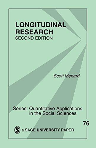Longitudinal Research (Quantitative Applications in the Social Sciences)