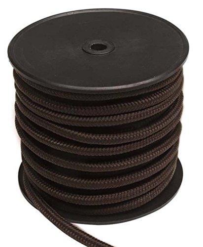 Mil-Tec Commando-Seil (50m Rolle) schwarz 7mm