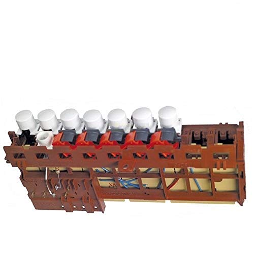 Interruptor de botón 7 veces lavadora AEG 899645277451 Electrolux ...
