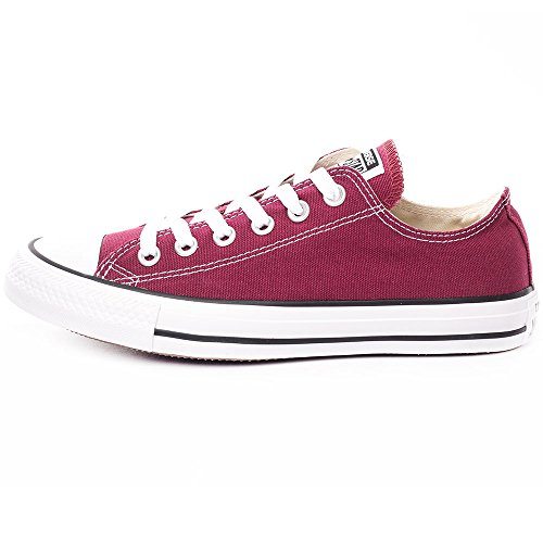 Converse Chuck Taylor All Star Core, Baskets Mixte Adulte Rouge (Maroon) 35 EU