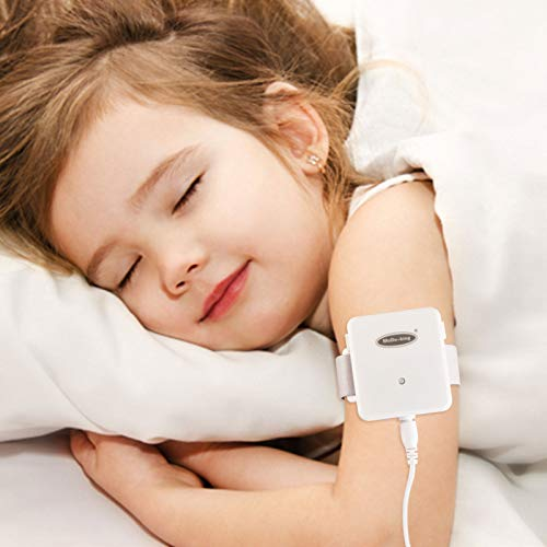 Bedwetting Alarm for Boys Girls Kids - Nocturnal Enuresis Alarm Sensor with Sound and Wireless Pee Alarm with Receiver for Parents Room