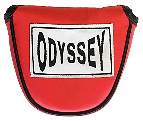 ODYSSEY Boxing Mallet Putter Headcover (Red,) Golf Cover