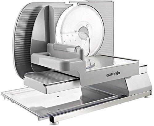 Gorenje R706A Elektrische Allesschneider, 180 W, Aluminium, Weiß