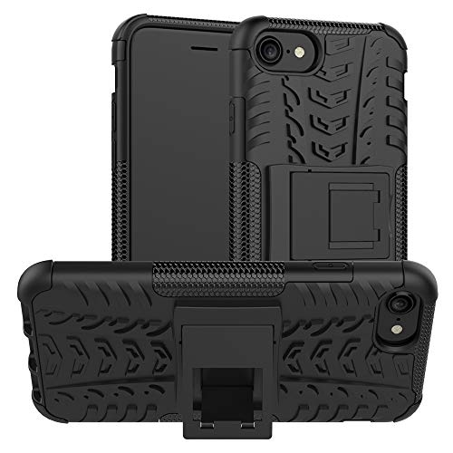 iPhone SE 2020 Case, iPhone 8/7 Case, UZER Shockproof Hybrid Slim Dual Layer Rugged Rubber Hybrid Hard/Soft Impact Armor Defender Protective Case with Kickstand for SiPhone SE2/iPhone 8/7 4.7 Inch