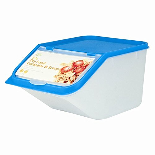Ardisle Plastik Nudeln Getreide Reis Trockene Lebensmittel Lagerung Behälter Spender Mehl Haferflocken 3.5L