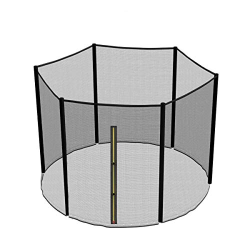 Greenbay Outdoor Trampoline Safety Net Replacement Enclosure Surrounds 8FT Foot