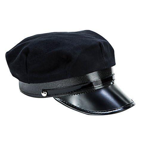 Kangaroo Black Chauffeur Limo Driver Costume Hat f156f8edd4a