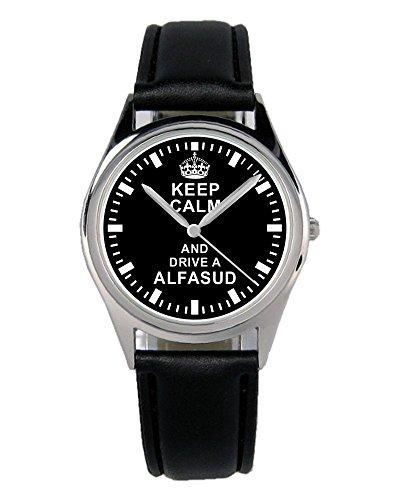 Geschenk für Alfa Romeo Alfasud Oldtimer Fans Fahrer Kiesenberg Uhr B-1644