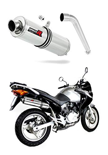 XL 125 V Varadero Escape Moto Deportivo Redondo Silenciador Dominator Exhaust Racing Slip-on 2001 2002 2003 2004 2005 2006