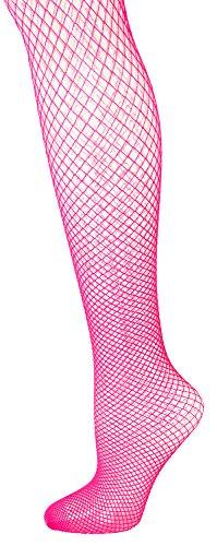 Das Kostümland Netzstrumpfhose XL für Herren - Pink