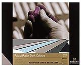 REMBRANDT Papier Pastel, Pastel sec, couleurs foncèes, 29.7x 42cm,160g, 6 couleurs,30 feuilles (France...
