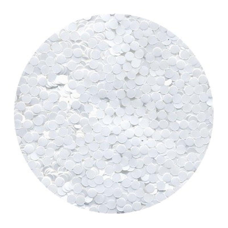 技術的なチャーミングファイバピカエース ネイル用パウダー 丸カラー 2mm #421 ホワイト 0.5g