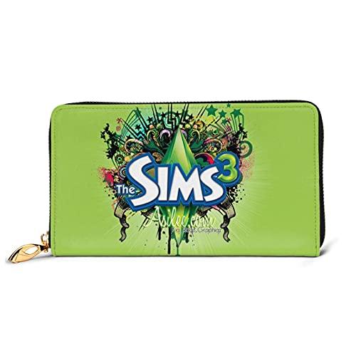 売れ行きがよい ザ・シムズ The Sims (3) 精選品の輸入 ウォレット 大容量 小銭入れ 真皮 長財布 携帯に便利です Pu牛革財布 軽量 多機能 一流の財布 誕生日プレゼント