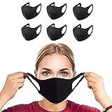 Tanness 6 máscaras Antipolvo para la Boca, Reutilizables, Lavables, Unisex
