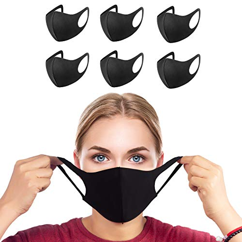Tanness 6x Anti Dust Mask Face Mouth Mask,Fashion Reusable Washable Outdoor Unisex Mask