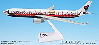 Flight Miniatures Thai Airways Royal Barge Srichulalak Livery A330-300 1:200 Scale with Stand