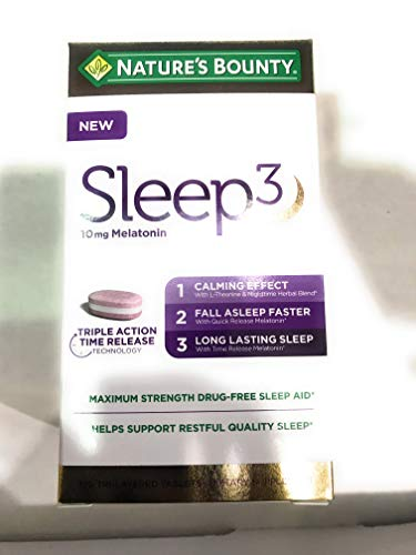 Nature's Bounty Sleep 3-120 Tablets