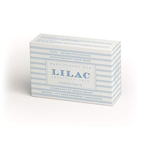 Lilac Baby Soothing Dermatological SYNDET BAR Seife Soap-free, paraben free and pH neutral 100 gr.