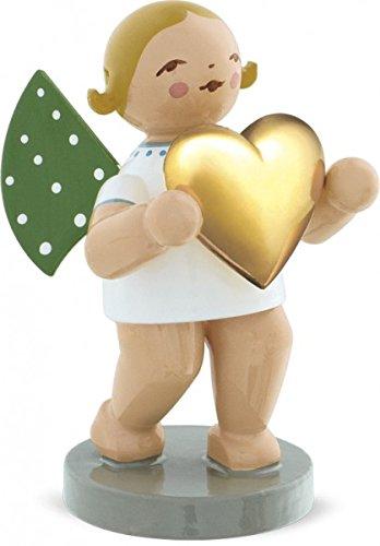 Liebesbote, Engel mit vergold. Herz
