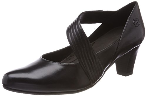 Gerry Weber Shoes Damen Lena 15 Pumps, Schwarz Schwarz, 38 EU