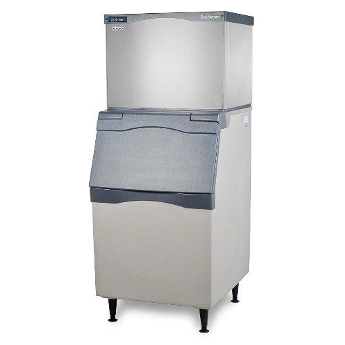 "Scotsman C0530MA-B530P 525 lb 30"" Air-Cooled Medium Cube Ice Machine w/ Storage Bin"
