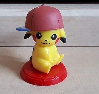 Bandai Choco Egg Mini Figure Pokemon Sun & Moon~Ash's Pikachu Size 34 mm