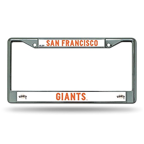MLB San Francisco Giants Chrome License Plate Frame